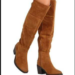 Qupid knee high boots